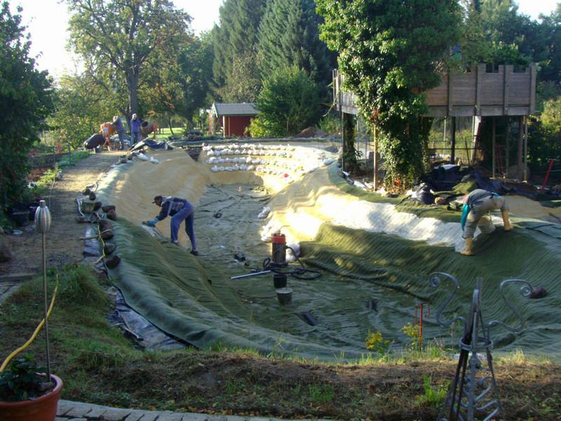 Bulut-Gartengestaltung - Wasserlandschaften